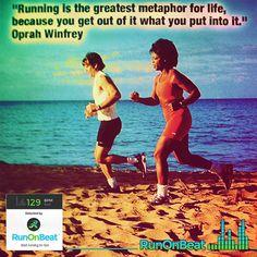 #RunOnBeat #motivation #OprahWinfrey #Quotes #RunningApp #RunningMusic