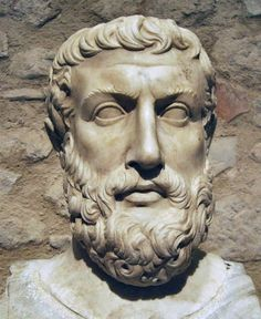 "Parmenides (Elea, 515 BCE) describes in his poem, On Nature, two views of reality. In ""the way of truth"" he explains how reality (coined as ""what-is"") is one, change is impossible, and existence is timeless, uniform, necessary, and unchanging. In ""the way of opinion,"" he explains the world of appearances, in which one's sensory faculties lead to conceptions which are false and deceitful. These ideas had a strong effect on Plato, and in turn, influenced the whole of Western philosophy."