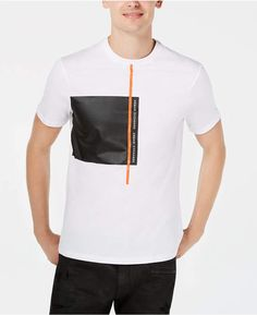 Armani Exchange Men Block Logo T-Shirt Shirt Print Design, Tee Shirt Designs, Unisex Baby Clothes, Baby Clothes Shops, Fridah Kahlo, Cool Shirts, Tee Shirts, Grafik Design, Trendy Plus Size