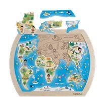 Harta lumii / world map puzzle Montessori Toddler, Toddler Toys, Kids Toys, Toddler Girl, World Map Puzzle, Hape Toys, Kindergarten, Geometric Heart, Montessori Materials