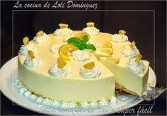 Tarta semifrío de limón súper fácil, Receta Petitchef Jello Recipes, Lemon Recipes, Sweet Recipes, Dessert Recipes, Cold Desserts, Frozen Desserts, Gluten Free Desserts, No Bake Desserts, Parfait