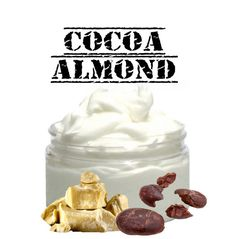 Natural Foaming Cocoa Almond Shaving Cream Soap by MommaBNaturals