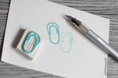 flip flop rubber stamp havaianas beach thongs by byhoneysuckle, $8.00