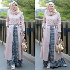 Batik Fashion, Abaya Fashion, Modest Fashion, Women's Fashion Dresses, Mode Batik, Moslem Fashion, Modele Hijab, Hijab Style, Outfit Look