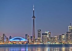 In this article, we will be sharing the top tourist spots that anyone must visit when you are in Toronto. Toronto is best experienced when you immerse yourself in the city by going to these places: Vancouver Skyline, Vancouver City, Toronto City, Travel Deals, Us Travel, Canada Pictures, Tourist Spots, City Break, City Life