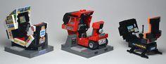 鈴木裕氏とセガファンまで再現。レゴ作りのセガのアーケード筐体
