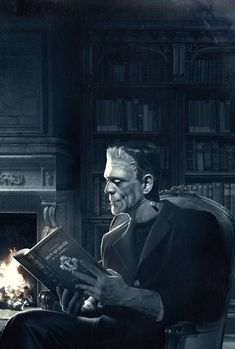Read Book Online Frankenstein or the Modern Prometheus Mary Shelley A precursor to gothic literature and science fiction genre. Horror Films, Horror Art, Horror Icons, Beetlejuice, I Love Books, Good Books, Exposition Photo, Frankenstein's Monster, Monster Books
