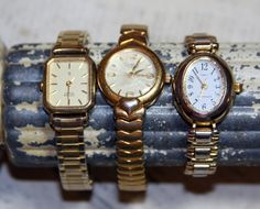 Hey, I found this really awesome Etsy listing at https://www.etsy.com/listing/232641597/vintage-wristwatch-lot-for-art-projects