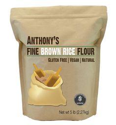 Brown Rice Flour: Batch Tested & Verified Gluten-Free