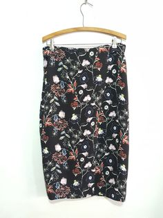 A.L.C. Daniels English Rose Floral Print Skirt. Sz. 10