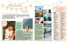 Santa Barbara Independent's Annual Wedding Issue, 2013; opening spread // www.independent.com // #wedding #bride #groom #guide #santabarbara #newspaper