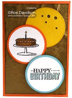Big day happy birthday #stampinup #bigday #saleabration