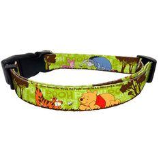 Disney Winnie the Pooh Nylon Dog Collar