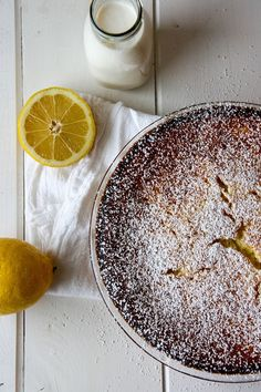 One bowl lemon coconut tart! No fuss, easy to make, absolutely delicious and perfect for entertaining! It's all you could want in a dessert!