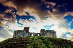 My canon 600d... Stafford castle
