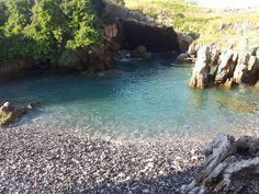 Playa del Pedregal. Castro Urdiales. Cantabria. Spain