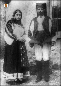 Piero Pirari,  Sposi di Oliena, 1914