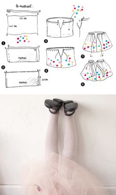 DIY tutu confetti I think this site is in French but that's what out good friend Google is for