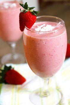 Cocktailrezepte Strawberry Colada