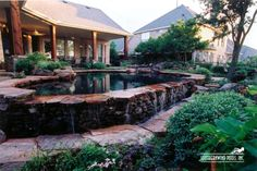 Natural / Freeform Pool #007 by Southernwind Pools