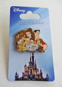 Disney Beauty and The Beast Belle's World Collector Pin | eBay