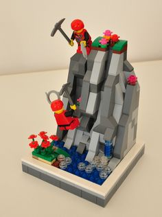 Image result for lego mountain climber