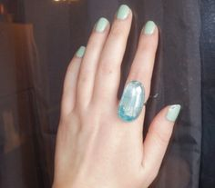 Marbelized Glass Marble Ring  http://happycakecrafts.blogspot.com/2011/04/marbelized-glass-marble-ring.html