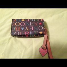 Dooney and Bourke wristlet Fits cards, money and small phones Dooney & Bourke Bags Clutches & Wristlets