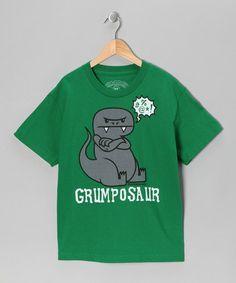 """We call eachother """"grumpasaurus"""" lol"""