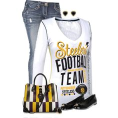 """""""Pittsburgh Steelers"""" by stay-at-home-mom on Polyvore"""