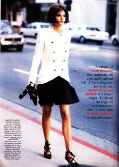 ☆ Helena Christensen   Photography by Peter Lindbergh   For Vogue Magazine US   March 1990 ☆ #helenachristensen #peterlindbergh #vogue #1990
