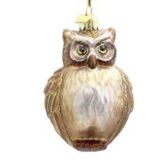 Amazon.com - Kurt Adler 5-Inch Noble Gems Glass Owl Ornament
