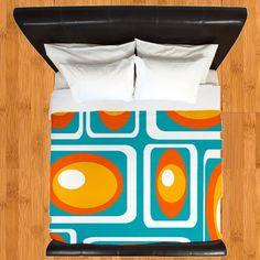 mid century modern bedding. Modern Duvet Cover,Modern Bedding, Retro Cover,Geometric Cover,Mid Century Cover, Mid Bedding D
