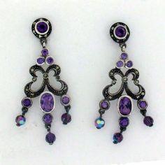 http://purpleleopardboutique.com/718-1617-thickbox/purple-amethyst-marcasite-dangle-earrings-sterling-silver-.jpg Amethyst earrings marcasite