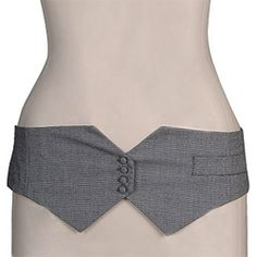 I'd love to do this, but to be worn at the natural waist.