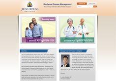 Boulware Disease Management #webdesign #portfolio