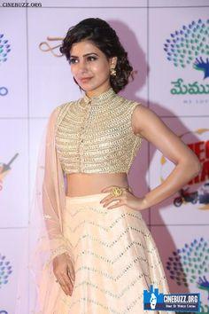 Samantha Ruth Prabhu At Memu Saitham Dine With Stars