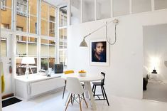 Inspiration from a home for sale in Stockholm...