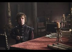 Peter Dinklage as Tyrion in Game of Thrones  The whole series is some of the best reading I have ever done.  I am just starting book 5 and can't wait too get into it! I recommend it highly! The HBO series is excellent too!