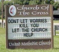 Funny Church Sign Pictures