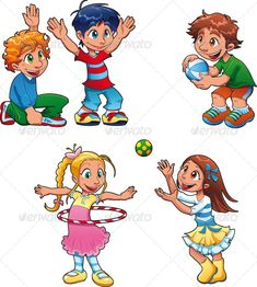 VECTOR DOWNLOAD (.ai, .psd) :: http://sourcecodes.pro/pinterest-itmid-1000153237i.html ... Boys and girls are playing ...  brother, cartoon, character, child, dress, expression, family, friend, gymnastics, illustration, isolated, school, smile, sport, student, vector  ... Vectors Graphics Design Illustration Isolated Vector Templates Textures Stock Business Realistic eCommerce Wordpress Infographics Element Print Webdesign ... DOWNLOAD…