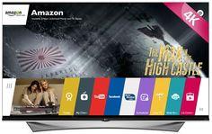 4.LG Electronics 65UF9500 65-Inch 4K Ultra HD 3D Smart LED TV