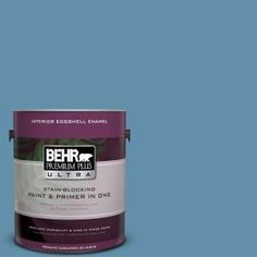 BEHR Premium Plus Ultra 1-gal. #S500-5 Treasure Map Eggshell Enamel Interior Paint 275401 at The Home Depot - Mobile