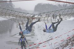 Survivalrun in Beltrum by Truus, every year yhe first sunday in Jan..