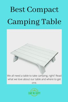 Talking tables may be boring but they are an essensial bit of kit for your camping trip. Read what we love about our compact table and why it goes everywhere with us.