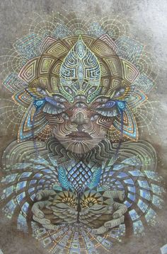 Ayahuasca, creative energy reaching back with gifts~