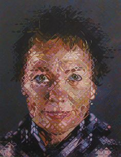 Laurie Anderson by Chuck Close