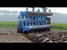 Modern Tractor Ploughing