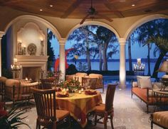 Marc-Michaels Interior Design Florida. KEEPER: LIVING IN FLORIDA I WANT A SPECTACULAR POOL,LANDSCAPING,OUTDOOR LIVING/ENTERTAINING SPACE. THIS IS BEAUTIFUL,FUNCTIONAL & ROMANTIC. ILL HAVE AN OUTDOOR BAR AND KITCHEN TOO..'Cherie