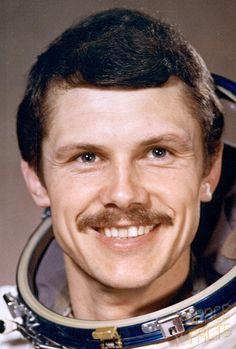 Bertalan Farkas, Hungary's first astronaut. 1980.